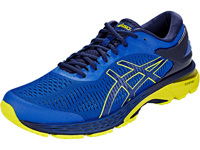 top quality buying new special buy asics Gel-Kayano 25 Shoes Men asics blue/lemon spark